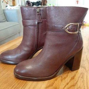 Johnston & Murphy burgundy boot